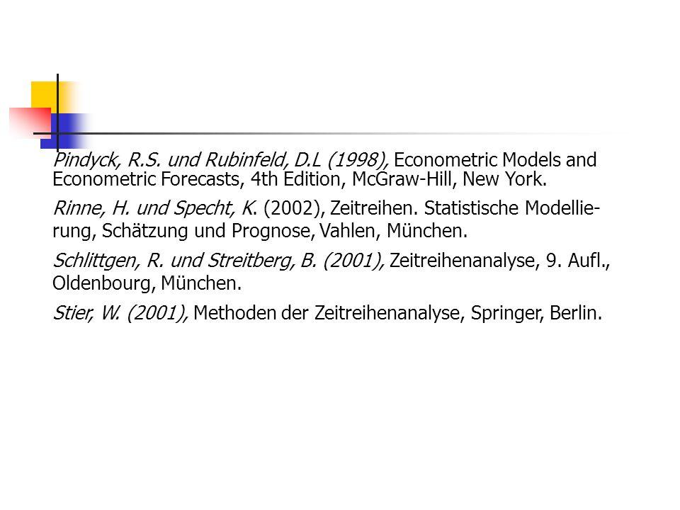 Pindyck, R. S. und Rubinfeld, D