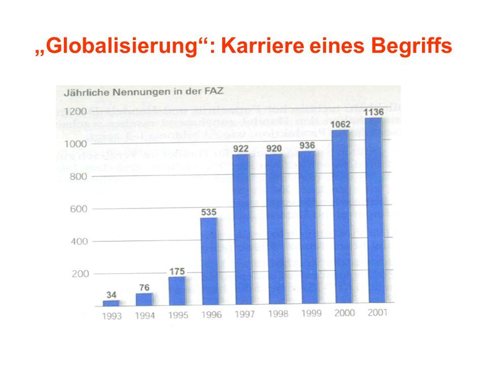 """""""Globalisierung : Karriere eines Begriffs"""