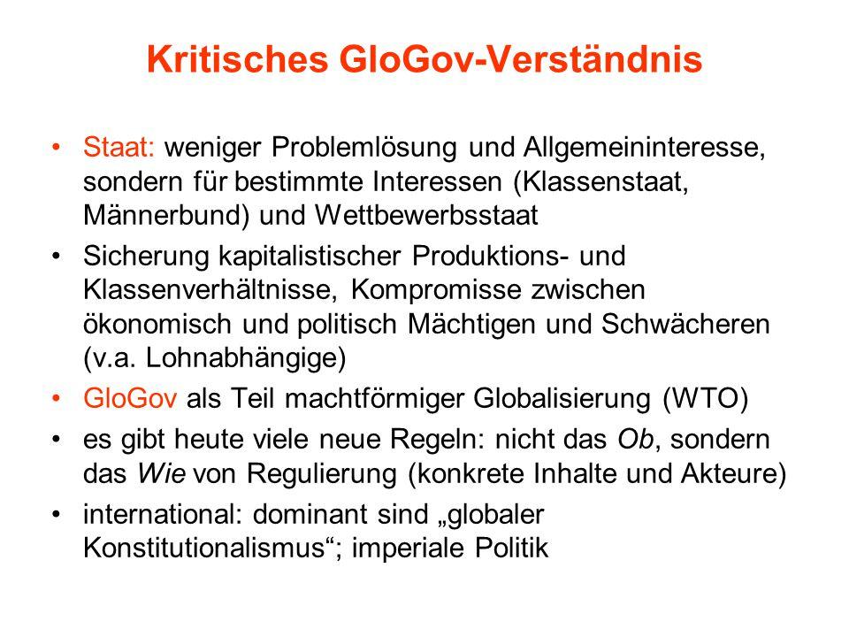 Kritisches GloGov-Verständnis