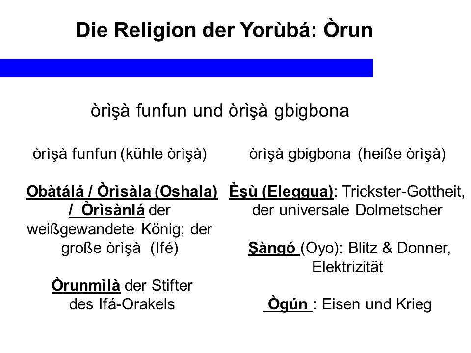 Die Religion der Yorùbá: Òrun