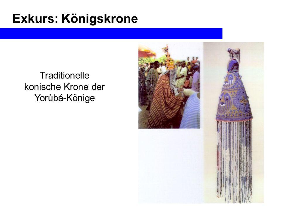 konische Krone der Yorùbá-Könige