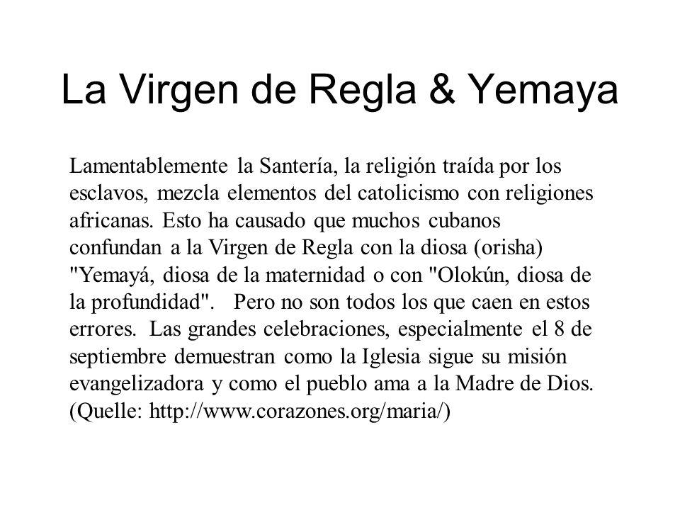 La Virgen de Regla & Yemaya