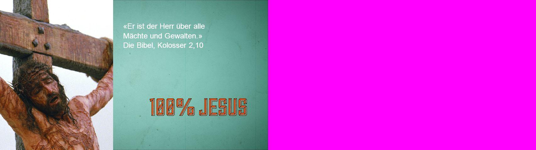 «Er ist der Herr über alle