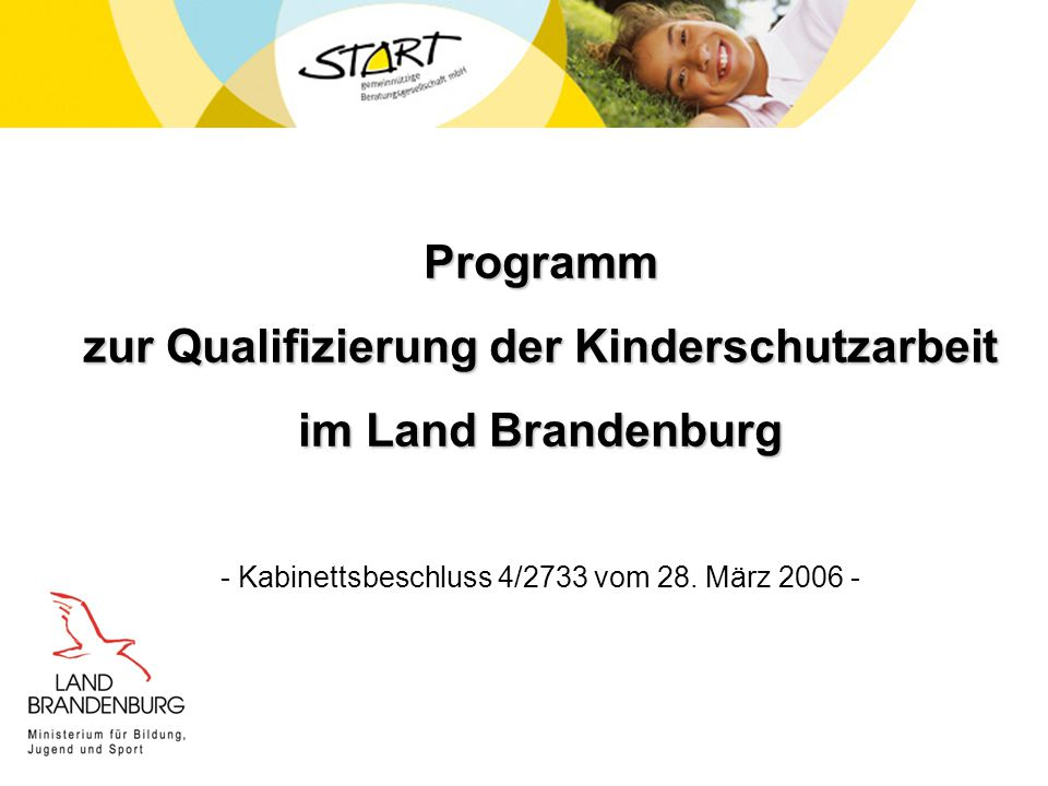 zur Qualifizierung der Kinderschutzarbeit