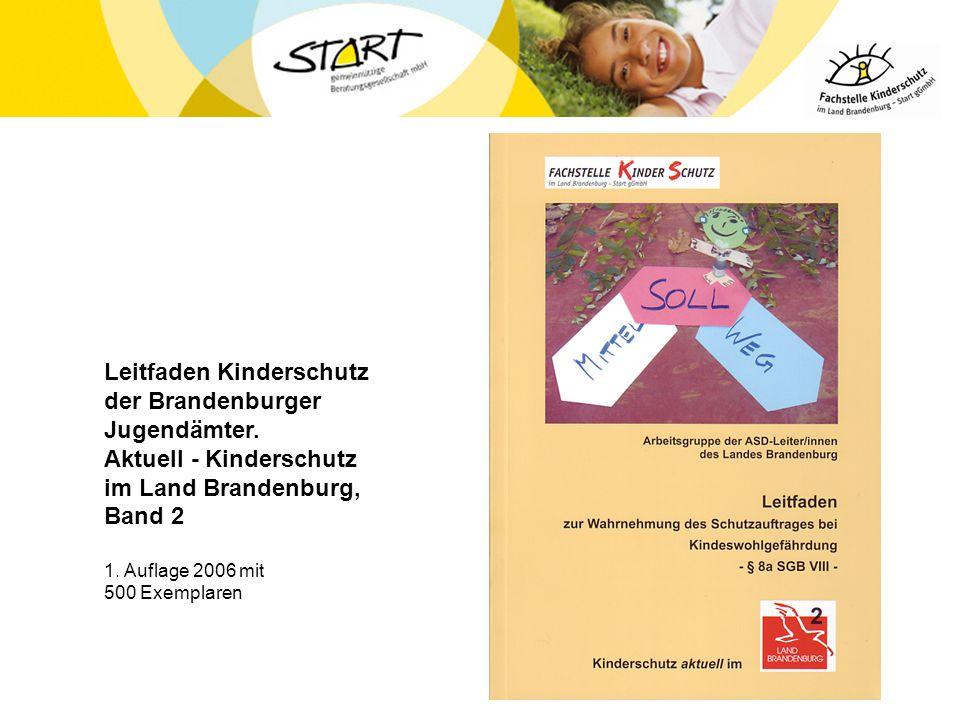 Leitfaden Kinderschutz der Brandenburger Jugendämter