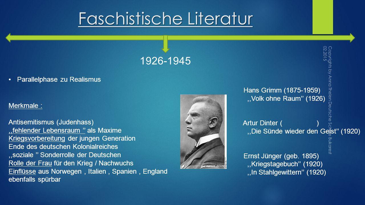 Faschistische Literatur