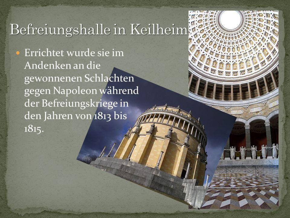 Befreiungshalle in Keilheim
