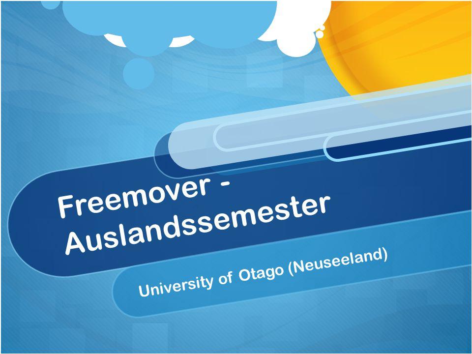Freemover - Auslandssemester