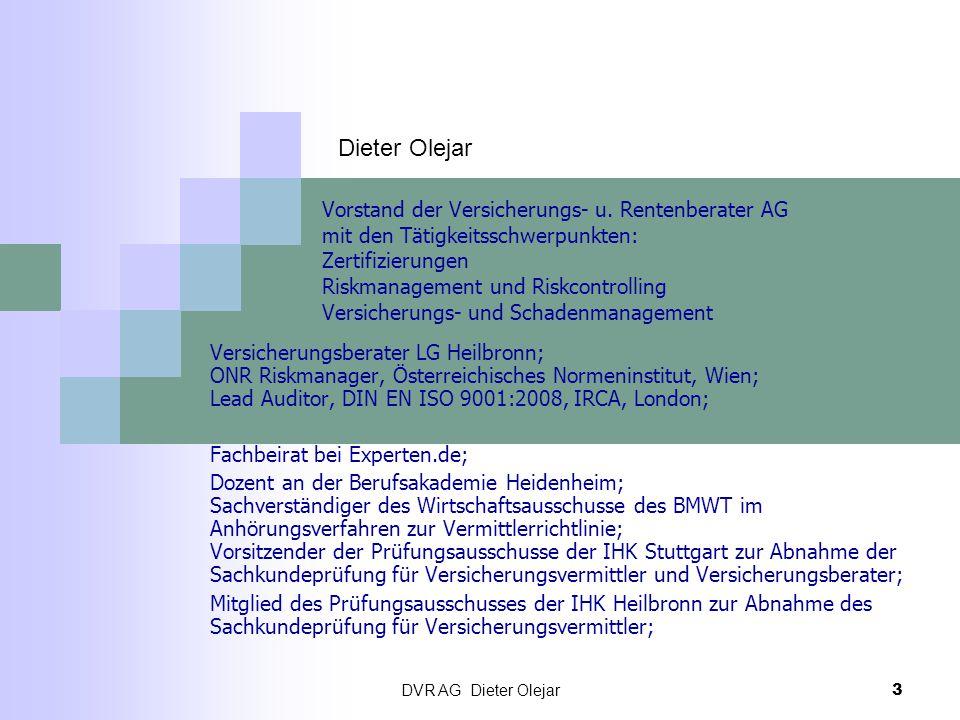 Dieter Olejar