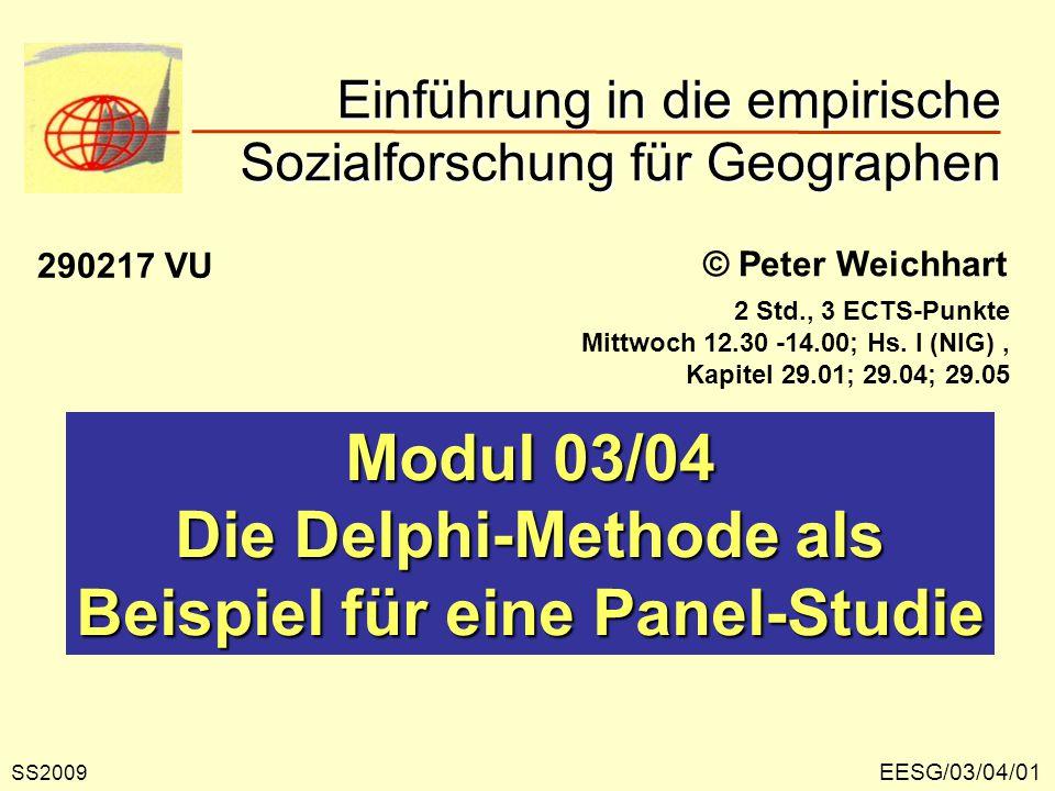 Einführung in die empirische Sozialforschung für Geographen