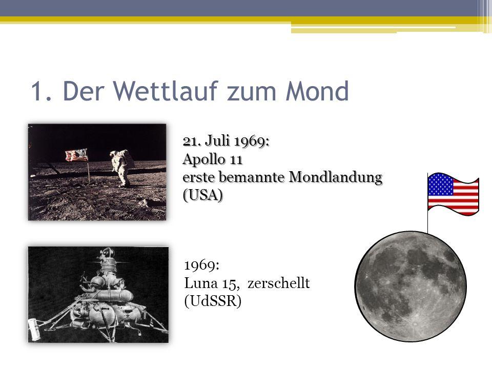 1. Der Wettlauf zum Mond 21.