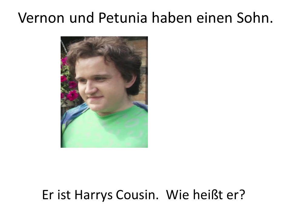 Vernon und Petunia haben einen Sohn.