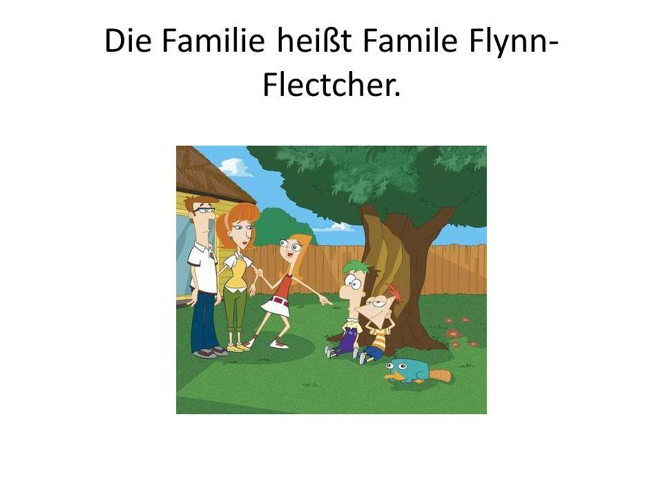 Die Familie heißt Famile Flynn-Flectcher.