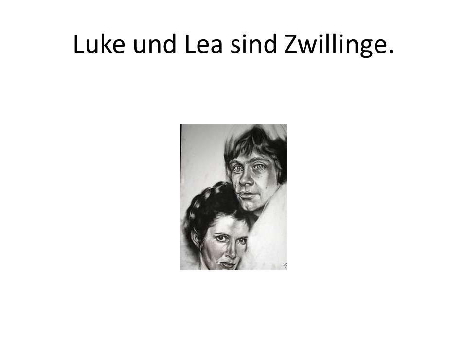 Luke und Lea sind Zwillinge.