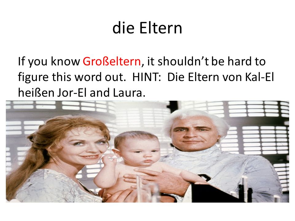 die Eltern If you know Großeltern, it shouldn't be hard to figure this word out.