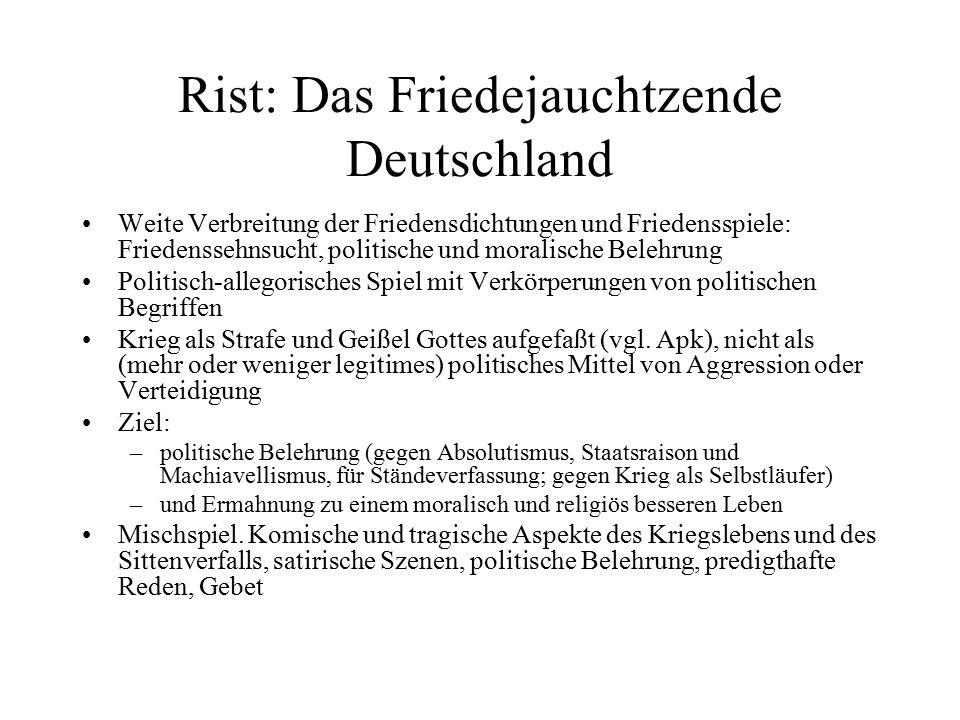 Rist: Das Friedejauchtzende Deutschland