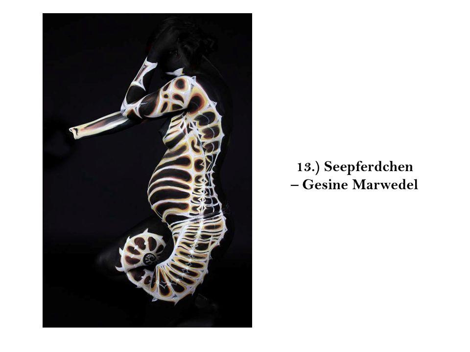 13.) Seepferdchen – Gesine Marwedel