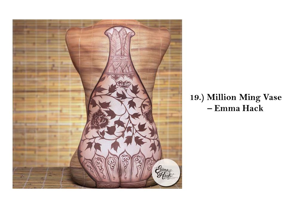 19.) Million Ming Vase – Emma Hack