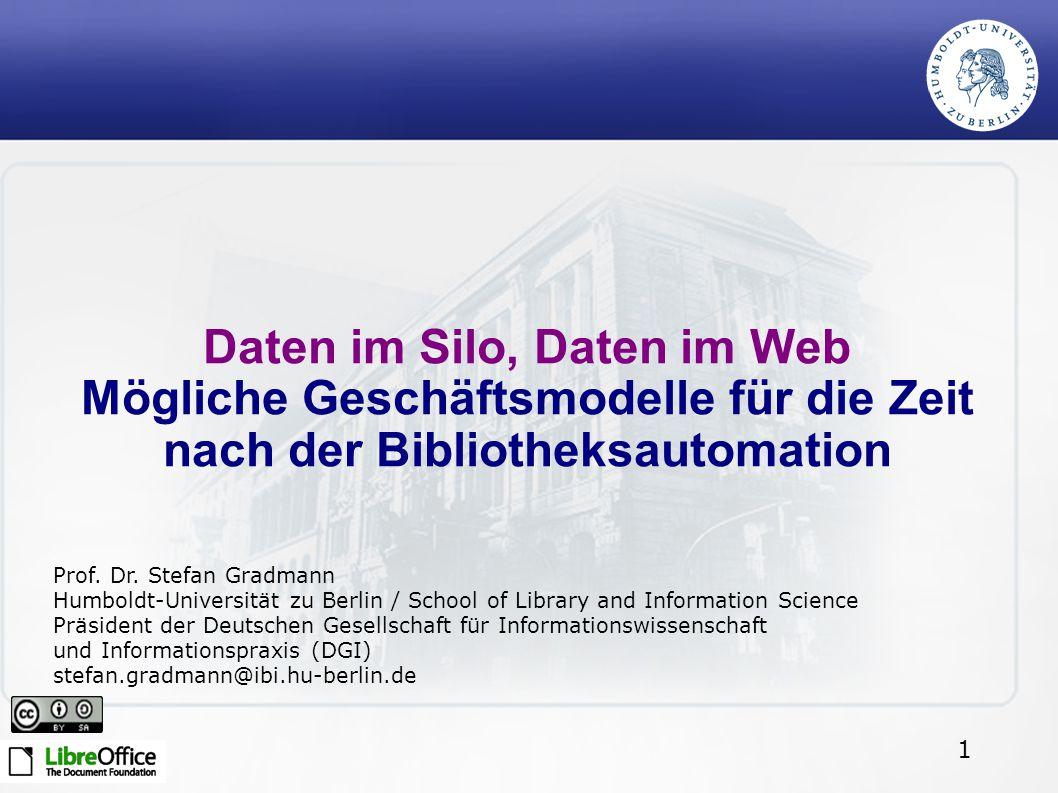 Daten im Silo, Daten im Web