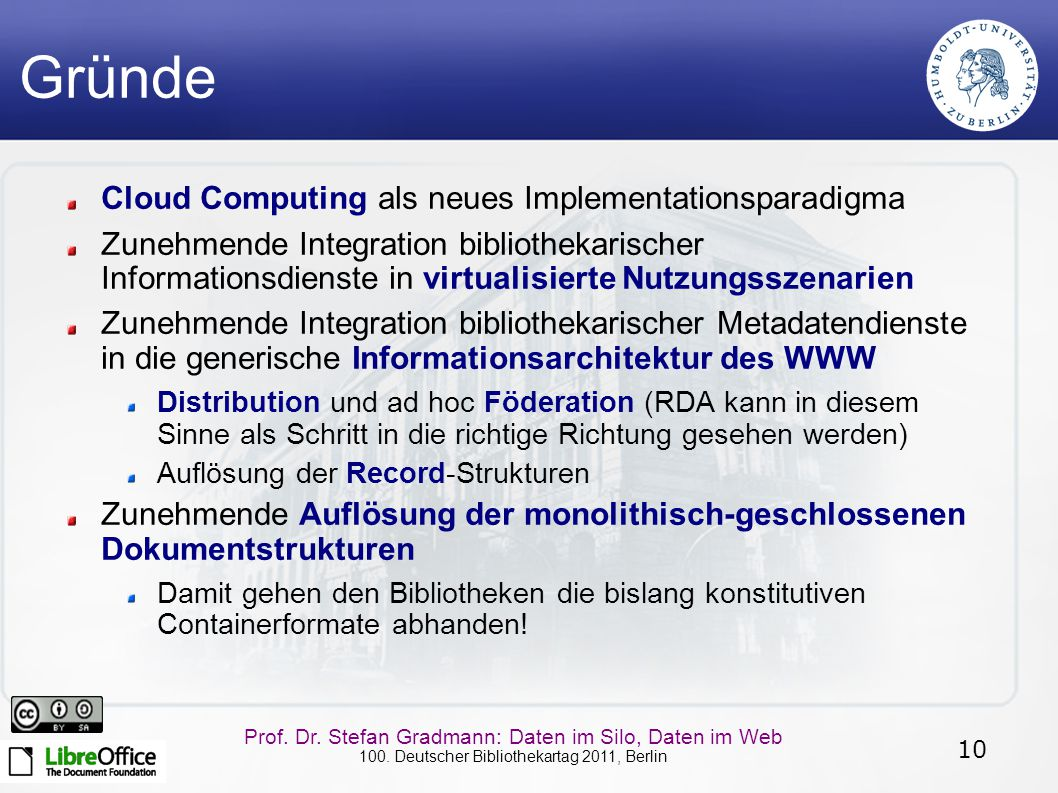 Gründe Cloud Computing als neues Implementationsparadigma