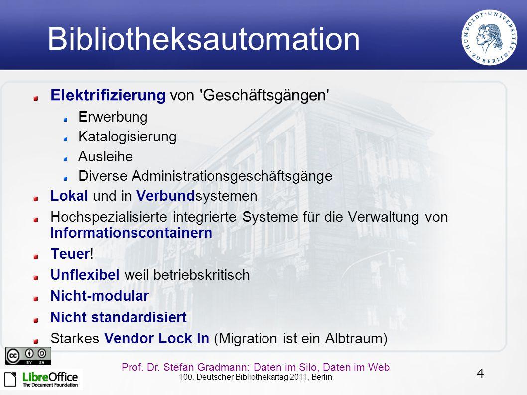 Bibliotheksautomation