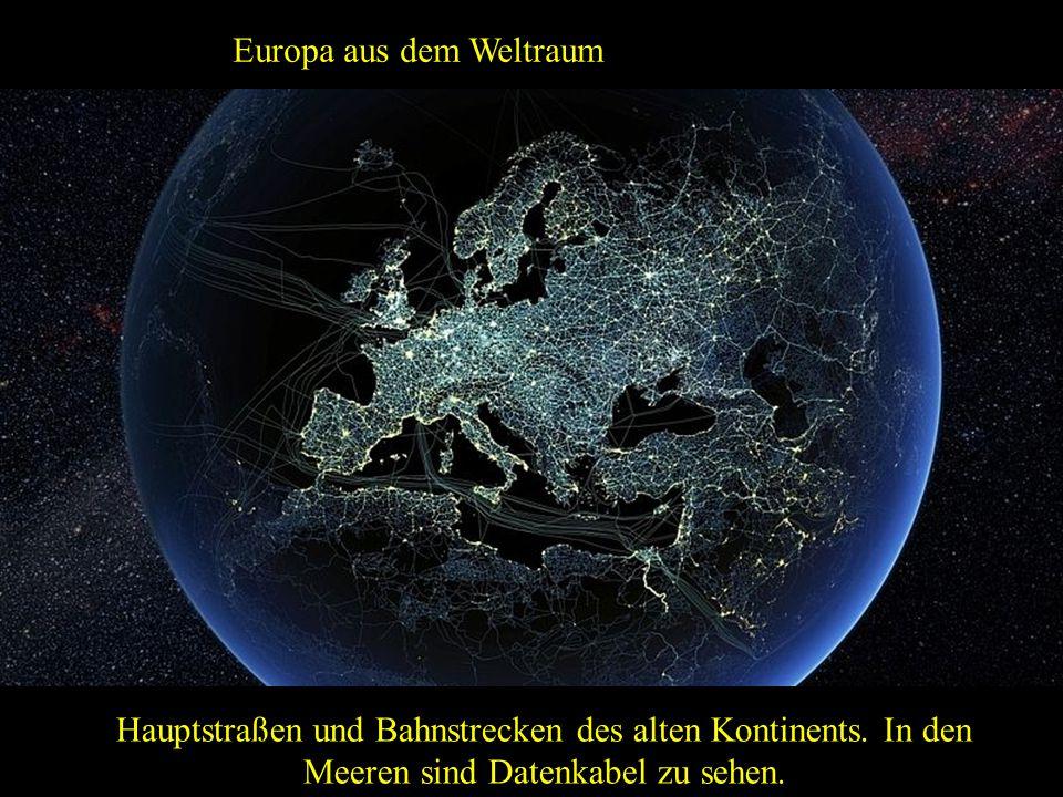 Europa aus dem Weltraum