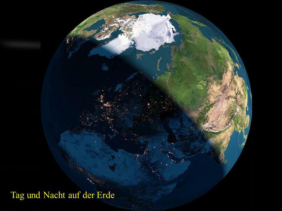 Tag und Nacht auf der Erde