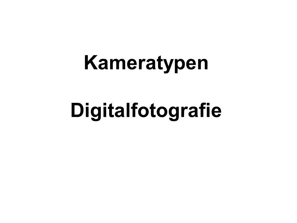 Kameratypen Digitalfotografie