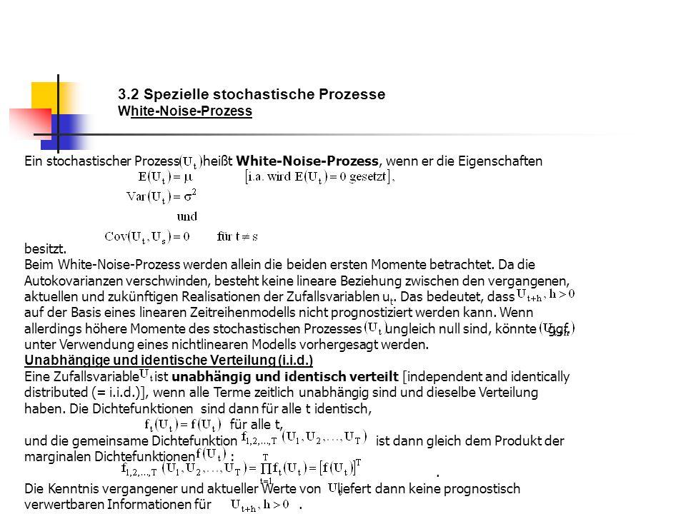 3.2 Spezielle stochastische Prozesse White-Noise-Prozess