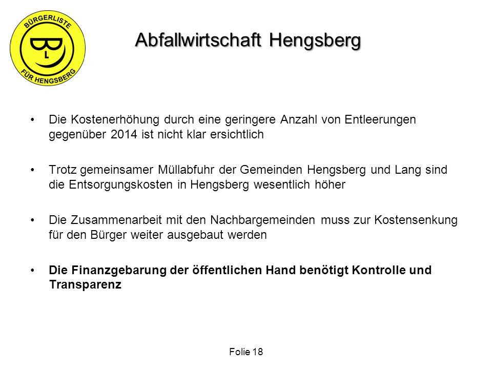 Abfallwirtschaft Hengsberg