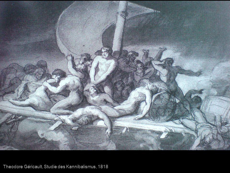 Theodore Géricault, Studie des Kannibalismus, 1818