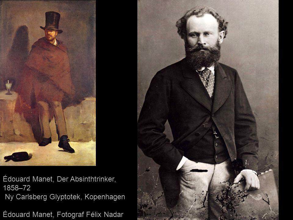 Édouard Manet, Der Absinthtrinker, 1858–72