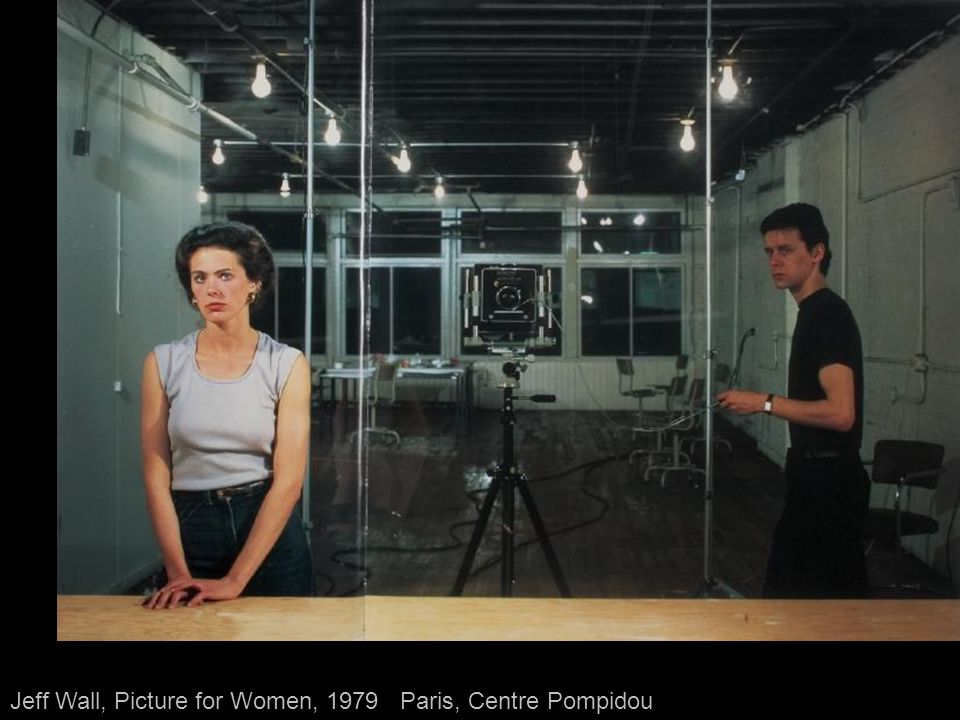 Jeff Wall, Picture for Women, 1979 - Paris, Centre Pompidou
