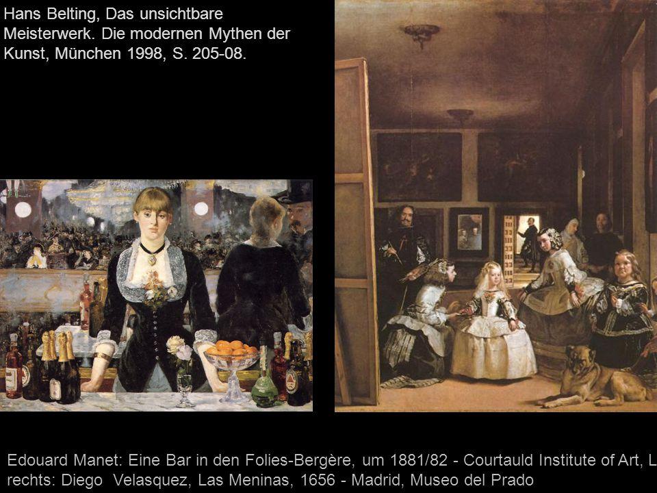Hans Belting, Das unsichtbare Meisterwerk