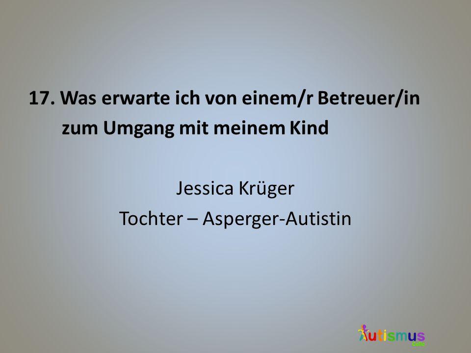 Tochter – Asperger-Autistin