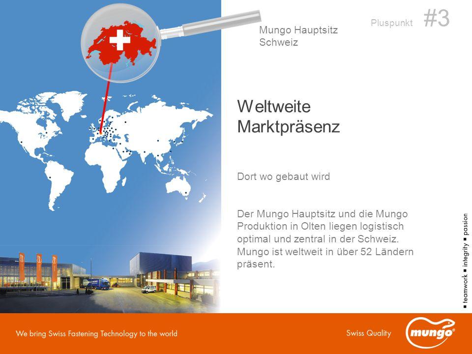 Weltweite Marktpräsenz