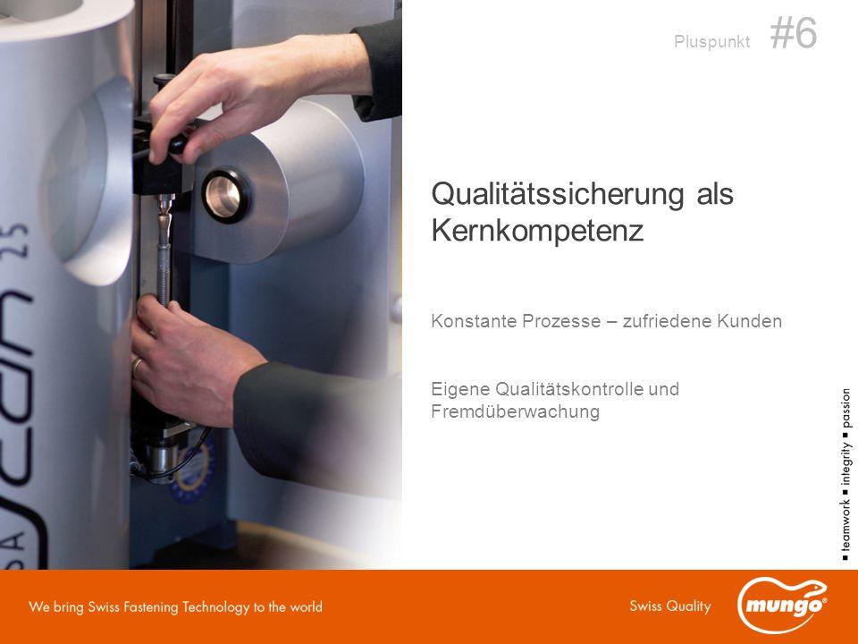 Qualitätssicherung als Kernkompetenz