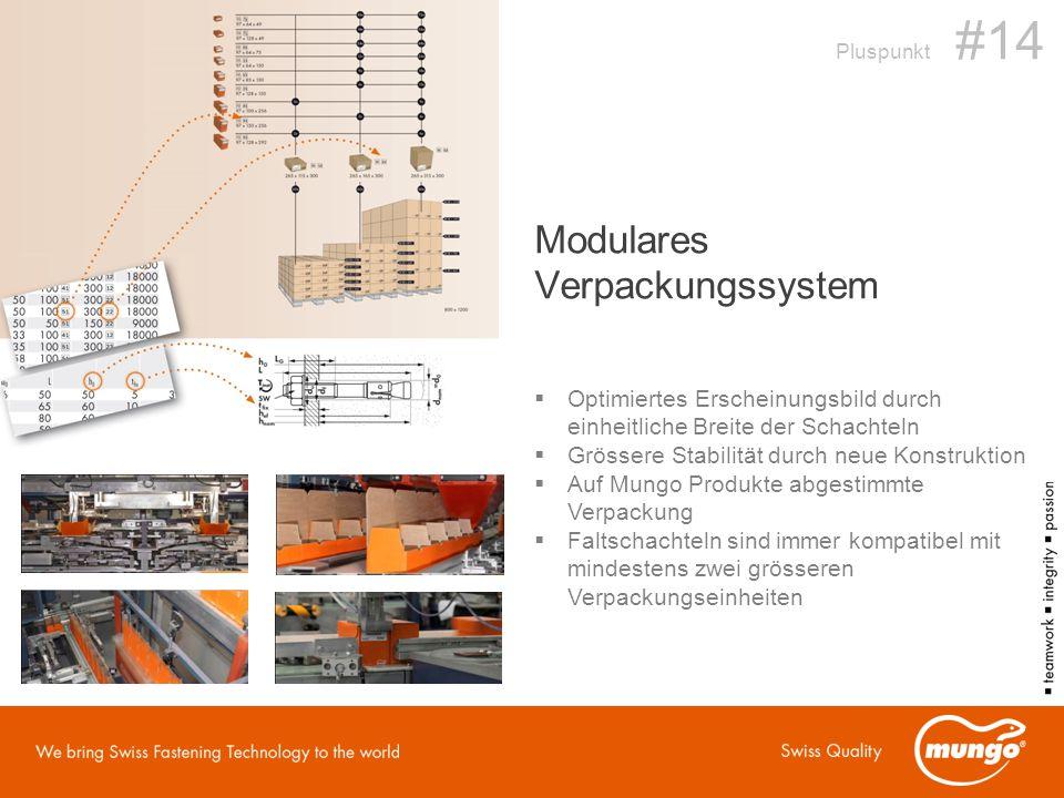 Modulares Verpackungssystem