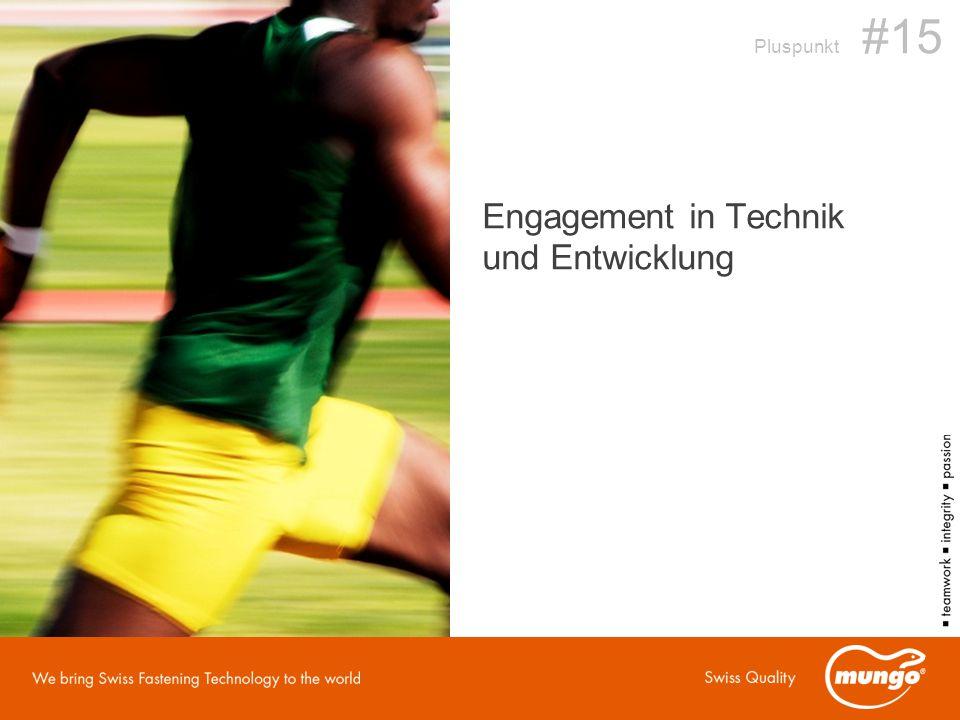 Pluspunkt #15 Engagement in Technik und Entwicklung