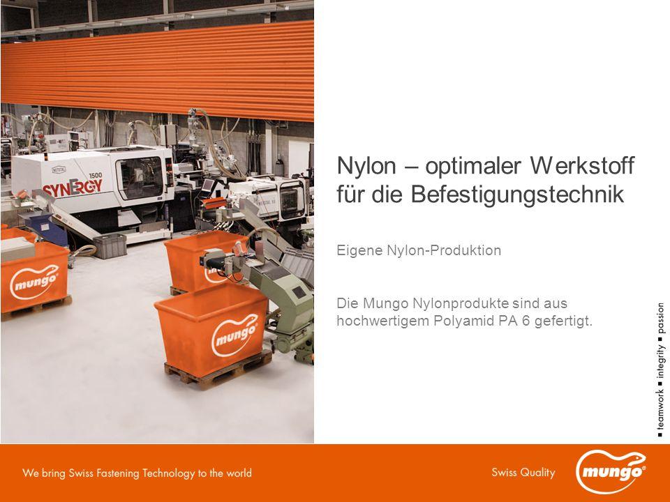 Nylon – optimaler Werkstoff für die Befestigungstechnik