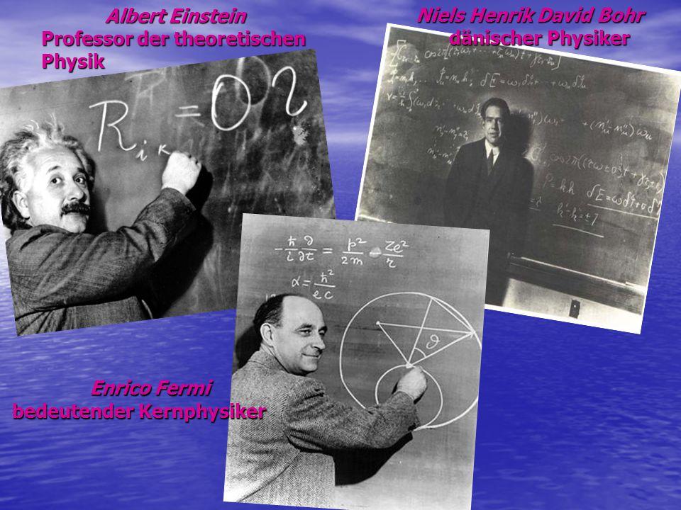 Enrico Fermi bedeutender Kernphysiker
