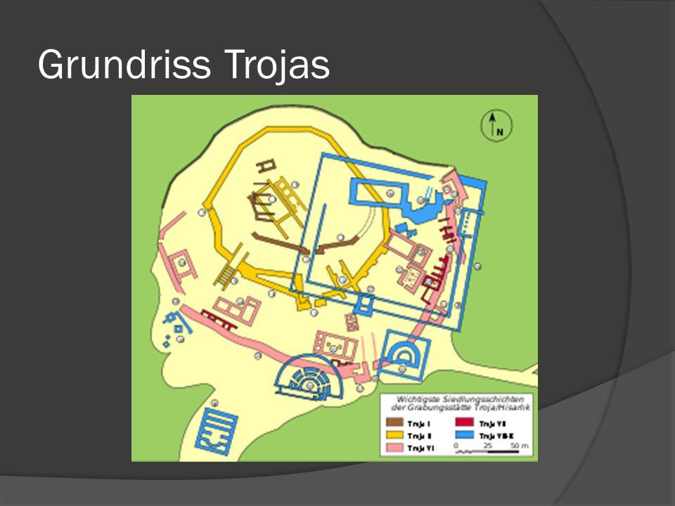 Grundriss Trojas