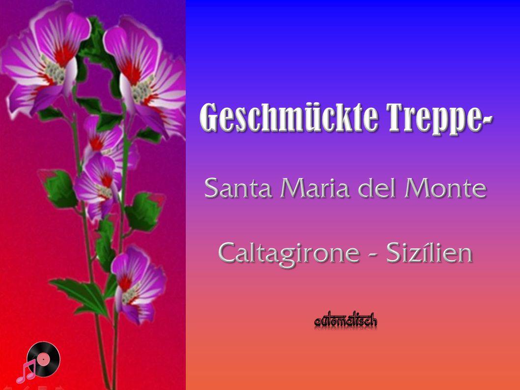 Caltagirone - Sizílien