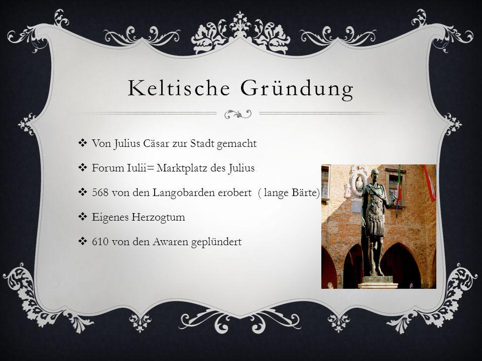 Keltische Gründung Von Julius Cäsar zur Stadt gemacht