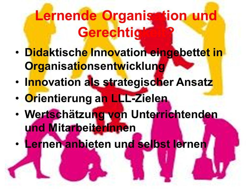 Lernende Organisation und Gerechtigkeit