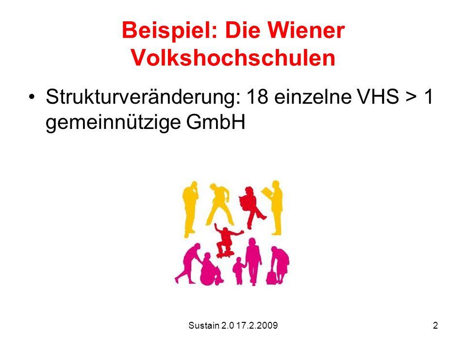 Beispiel: Die Wiener Volkshochschulen