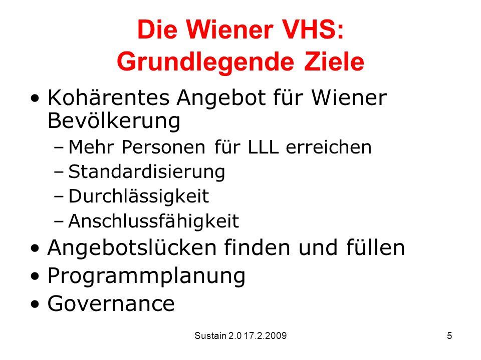 Die Wiener VHS: Grundlegende Ziele