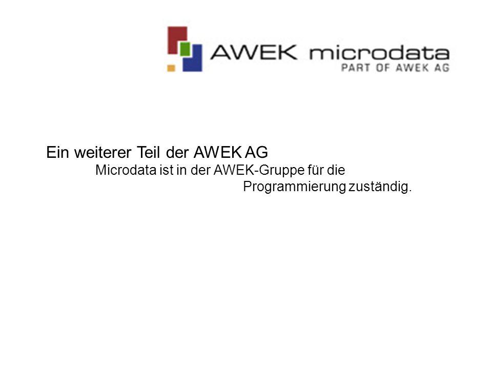 Ein weiterer Teil der AWEK AG