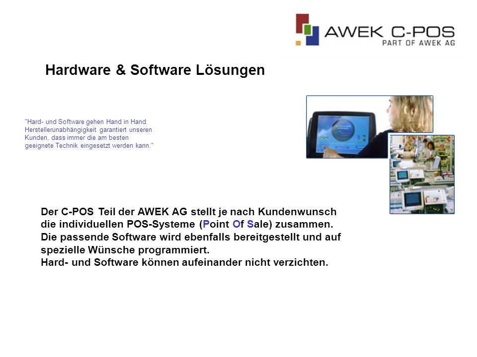 Hardware & Software Lösungen