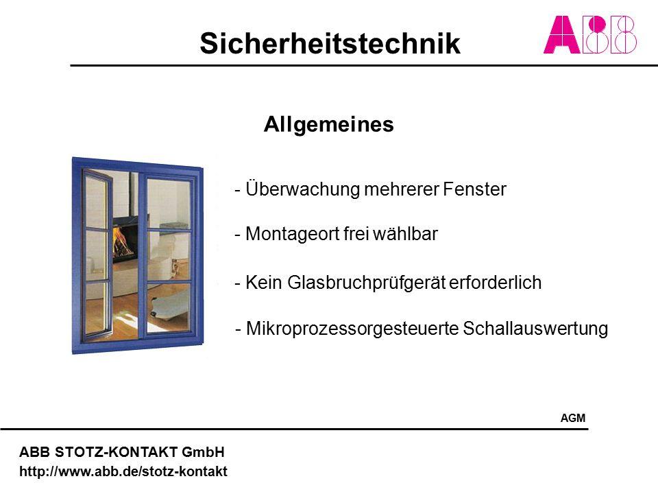 Allgemeines - Überwachung mehrerer Fenster - Montageort frei wählbar